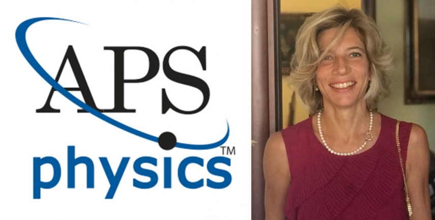 Important recognition for Silvia Picozzi: elected as 2019 American Physical Society Fellow