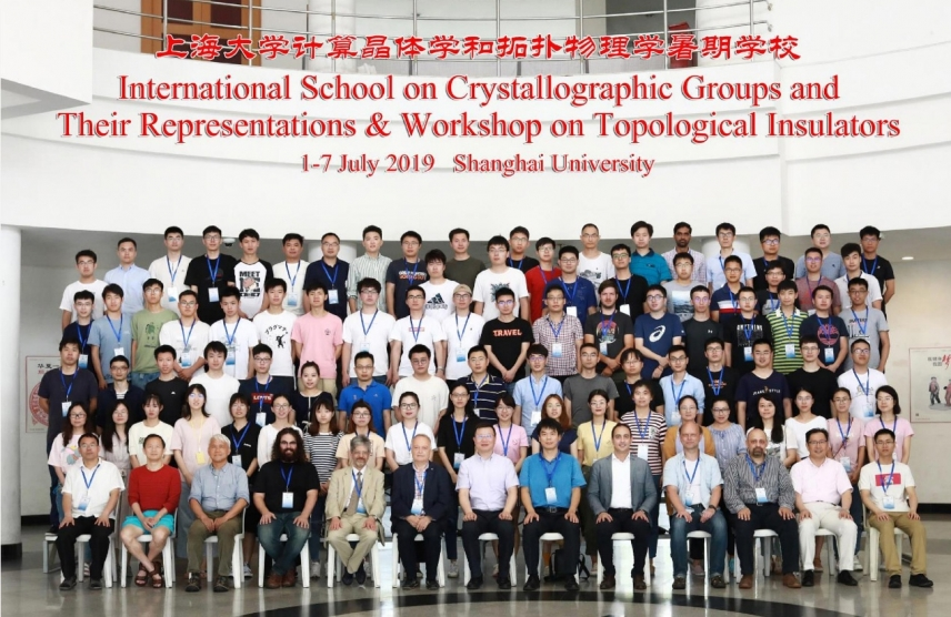 International School on Crystallographic Groups and Their Representations & Workshop on Topological Insulators
